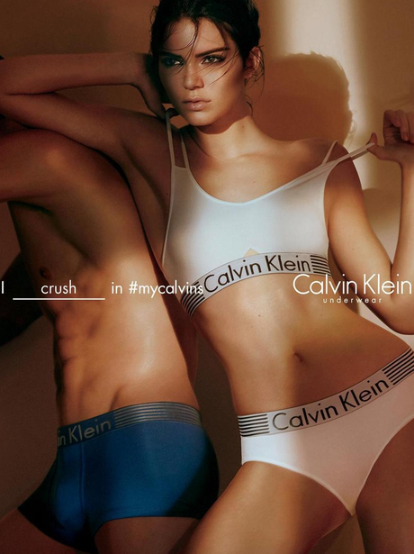 Kendall Jenner Calvin Klein campaign