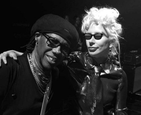 Lady Gaga cosies up to Nile Rodgers during Grammy performance rehearsals and we CANNOT wait.