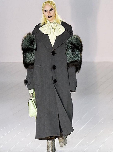 Lady Gaga walks in Marc Jacobs at NYFW