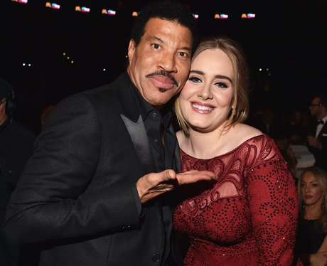 Lionel Ritchie and Adele