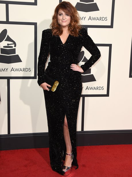 Meghan Trainor at the Grammy Awards 2016