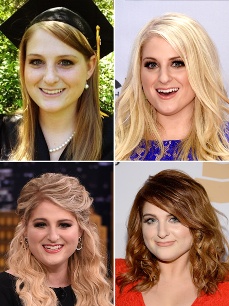 Meghan Trainor Hair Transformation