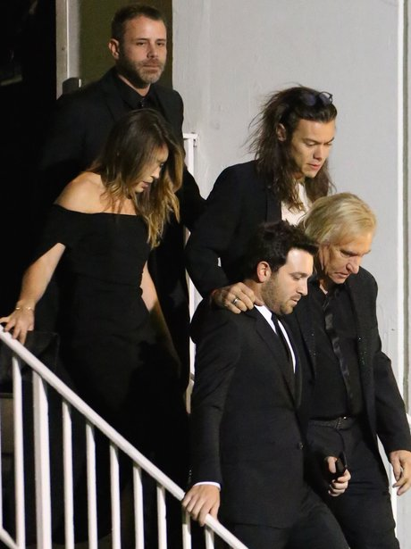 Harry Styles is spotted in Los Angeles at pre-Grammys party