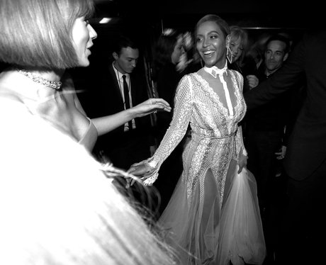 Taylor Swift and Beyonce reunite at the Grammys