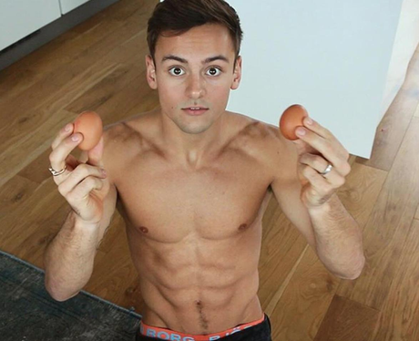 Tom Daley Shirtless Instagram