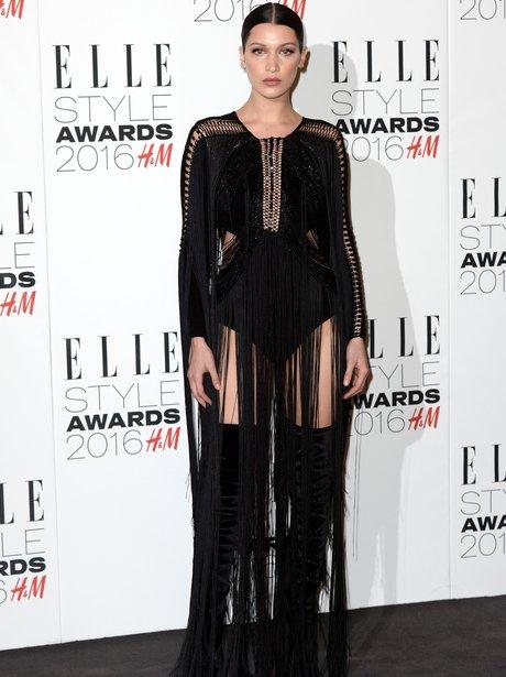 Bella Hadid Elle Style Awards 2016