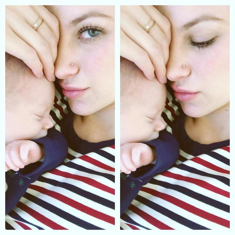 Briana Jungwirth & son Freddie Reign Tomlinson