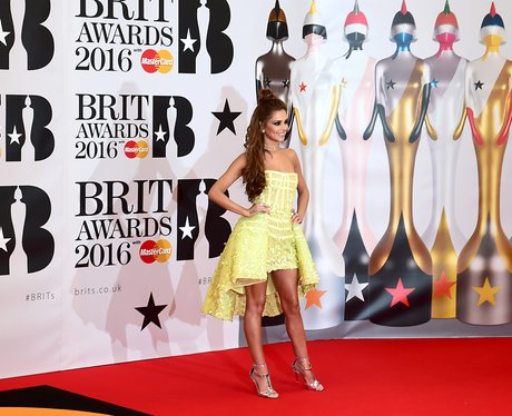 Cheryl Red Carpet Arrival Brit Awards 2016