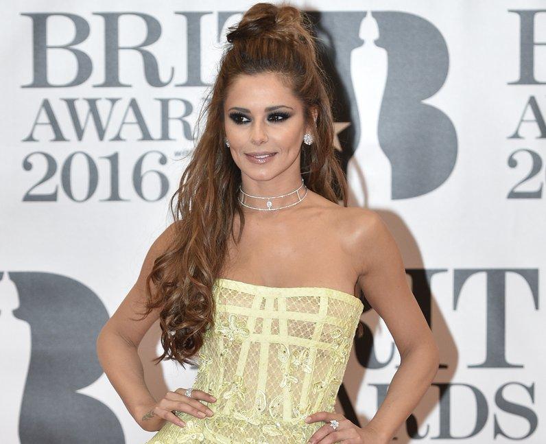 Cheryl Red Carpet Arrivals Brit Awards 2016