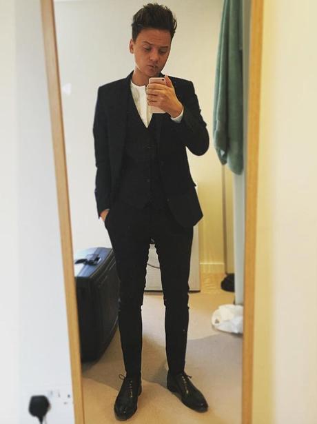Conor Maynard The Brits 2016 Selfie