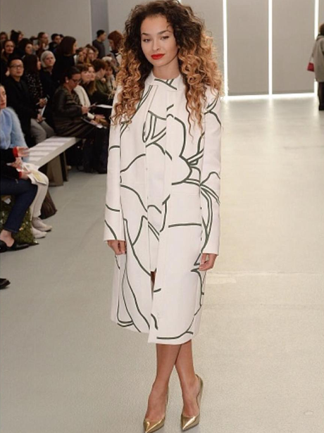 Ella Eyre at London Fashion Week AW16