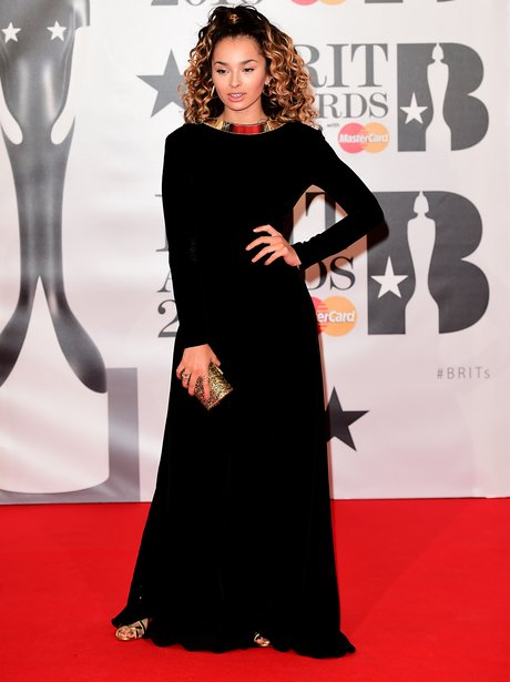 Ella Eyre Red Carpet Arrival Brit Awards 2016