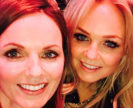 Geri Halliwell and Emma Bunton The Brits 2016 Self