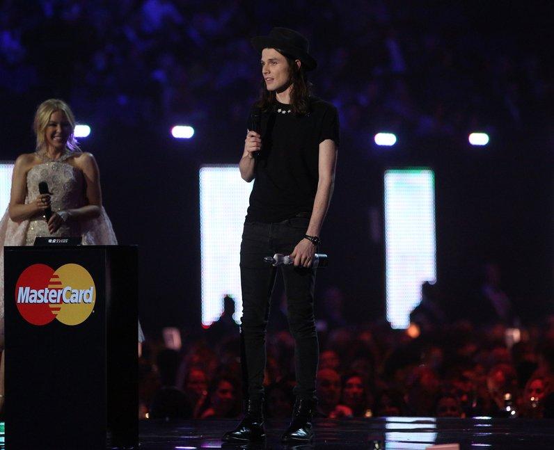 James Bay Winner Best Male Solo Artist Brit Awards