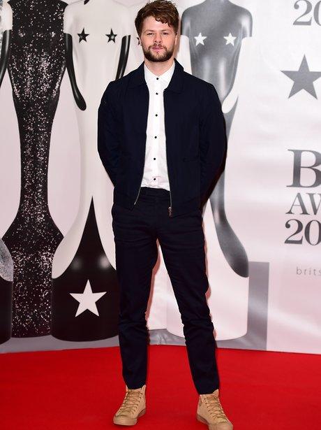 Jay McGuinness Red Carpet Arrivals Brit Awards 201