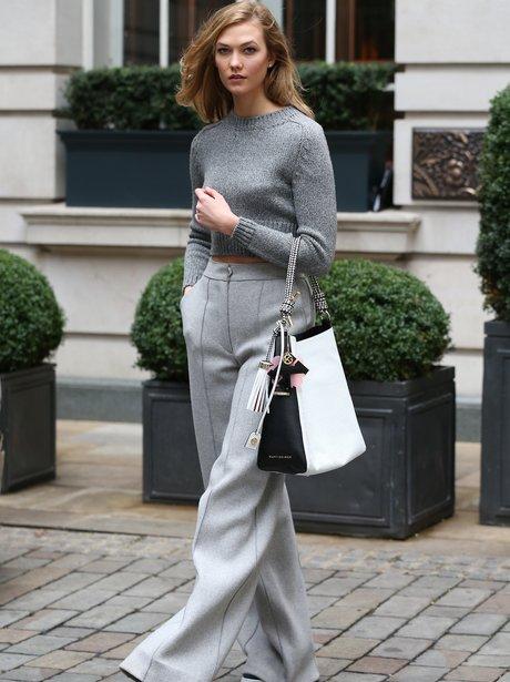 Karlie Kloss at London Fashion Week AW16