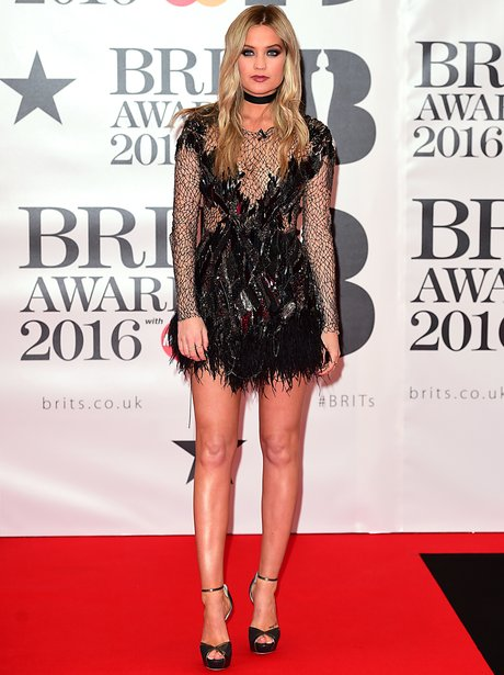 Laura Whitmore Brit Awards 2016 Arrivals