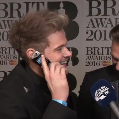 Lawson Adele Impression At The BRITs