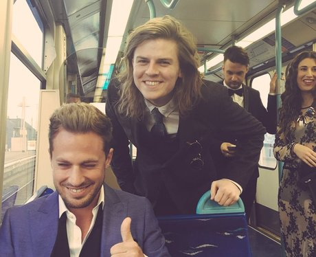 Lawson On The Tube Twitter