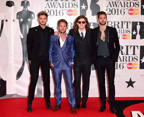 Lawson Red Carpet Arrivals Brit Awards 2016
