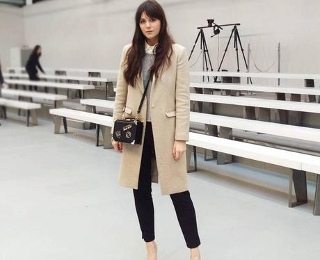 Lilah Parsons at London Fashion Week AW16