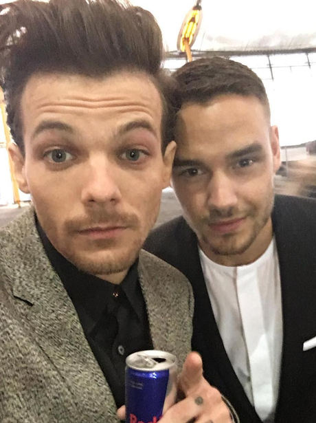 Louis Tomlinson and Liam Payne The Brits 2016 Self