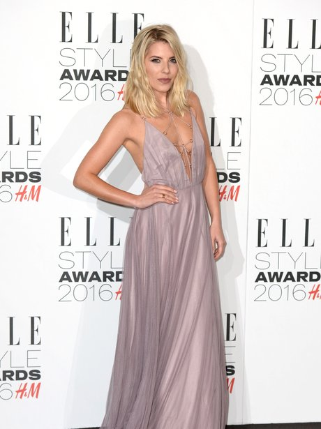 Mollie King Elle Style Awards 2016