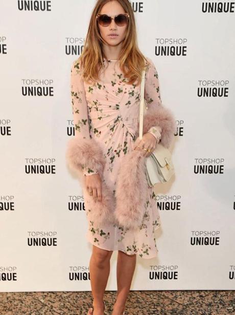 Suki Waterhouse at London Fashion Week AW16