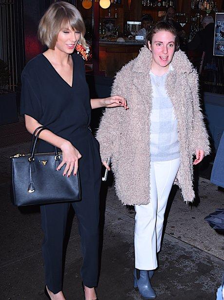 Taylor Swift and Lena Dunhum