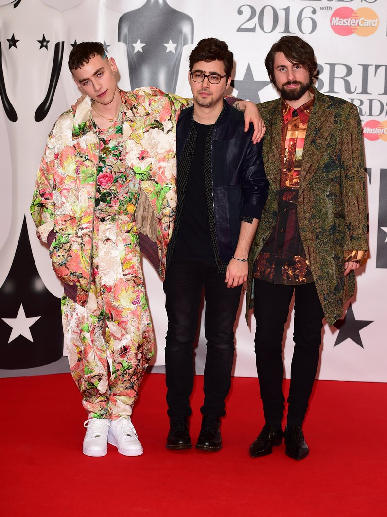 Years and Years The Brits 2016 Red Carpet Arrivals