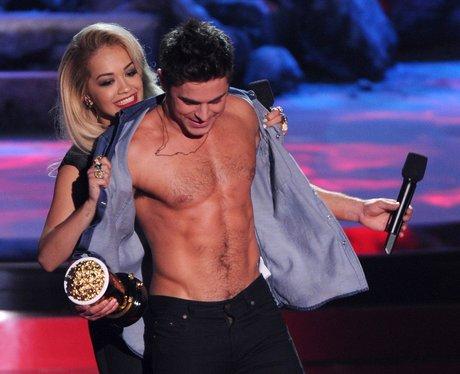 Zac Efron Body Transformation Rita Ora