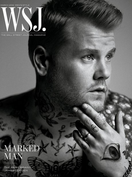 James Corden Wall Street Journal