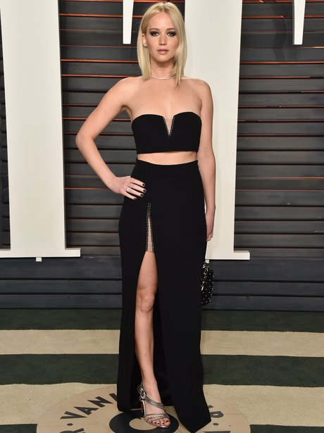 Jennifer Lawrence Vanity Fair party