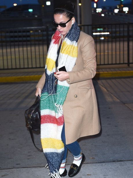 Katy Perry JFK Airport