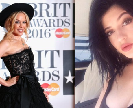 Kylie Minogue says that Kylie Jenner can't tradema
