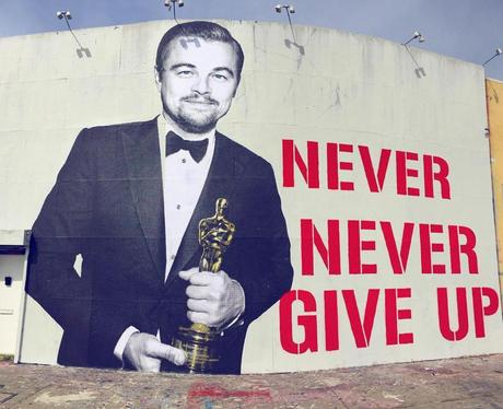 Leonardo DiCaprio street art