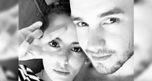 Liam Payne and Cheryl Fernande-Versini Canvas