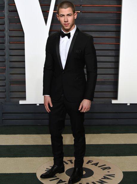 Nick Jonas Vanity Fair Oscars