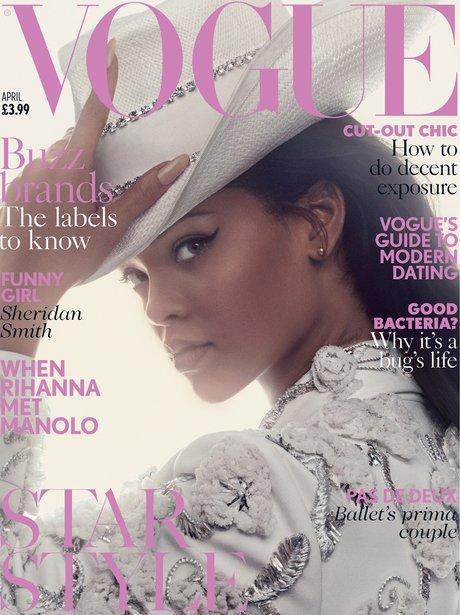 Rihanna Vogue Cover Canvas