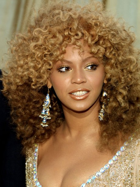 Beyonce at the premiere of Goldmember in 2002 with