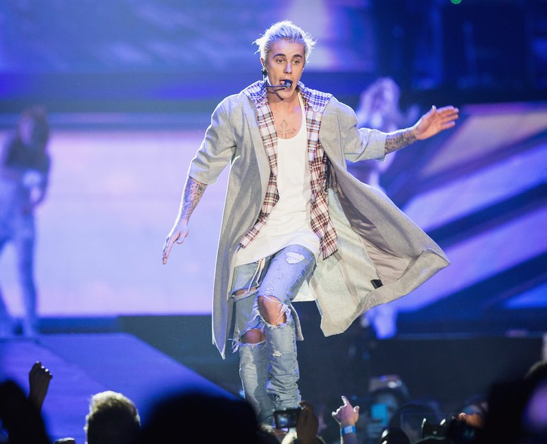 Justin Bieber Opening Night Purpose Tour 2016