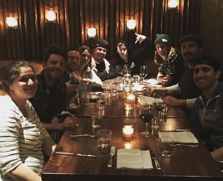 Justin Bieber treats his tour team to fancy dinner