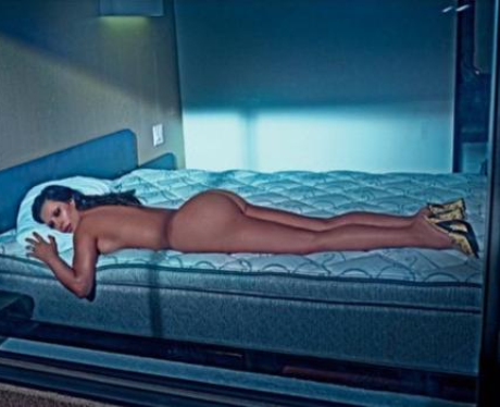 Kim Kardashian Love Magazine naked