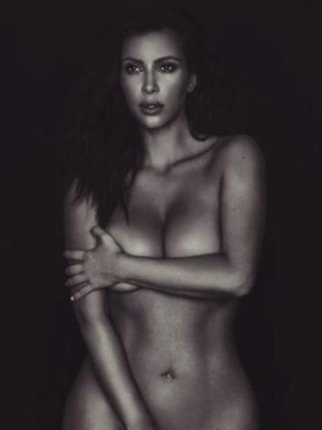 Kim Kardashian naked Instagram