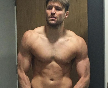 Mark Wright shows off huge new size