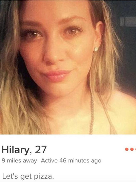 Miley Cyrus swipes right on Tinder for Hilary Duff