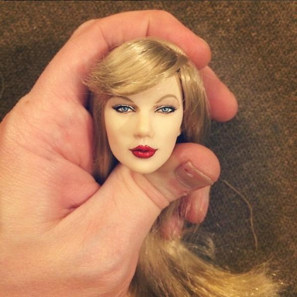 Taylor Swift As A Doll