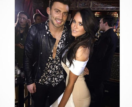 Vicky Pattison cosies up to Jake Quickenden