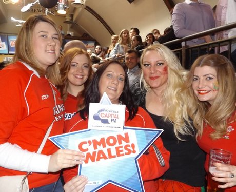 Capital Live In The City - Wales Vs Italy