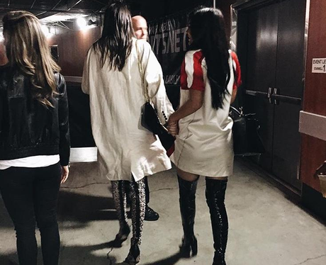 Kylie and Kendall head to basketball for sisters o